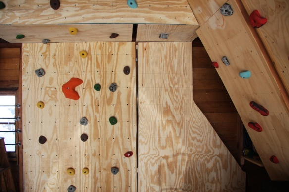 Home Climbing wall - a great way to train