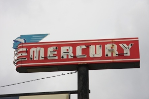 Mercury sign